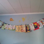 Book Covers as Wall Decoration